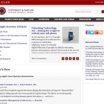 Relaunched Stanford Copyright and Fair Use Center